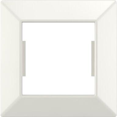 Ramka pojedyncza EDG1001W biała LEXMAN