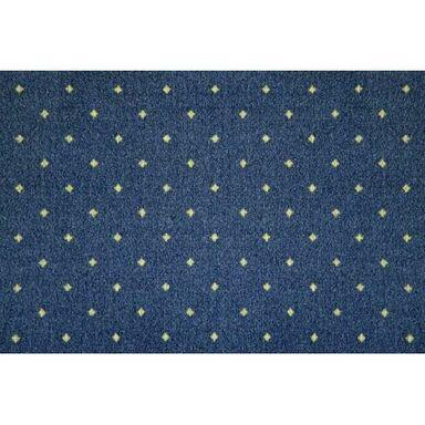Wykładzina dywanowa MAJESTIC niebieska 4 m