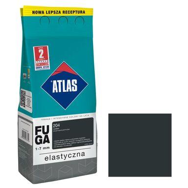 Fuga cementowa 204  czarny  2 kg ATLAS