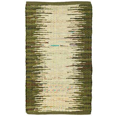 Dywan RUDI zielony 50 x 80 cm wys. runa 4 mm INSPIRE