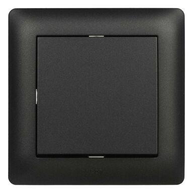 Włącznik pojedynczy ASTORIA  czarny  ELEKTRO-PLAST
