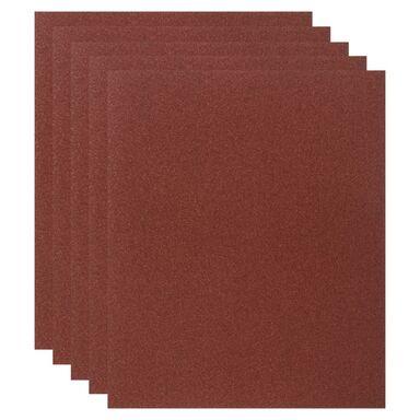 Papier ścierny DO DREWNA P120 230 x 280 mm DEXTER