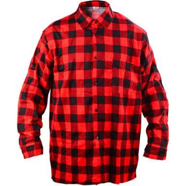Koszula flanelowa L czerwona LUX
