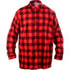 Koszula flanelowa XL czerwona LUX