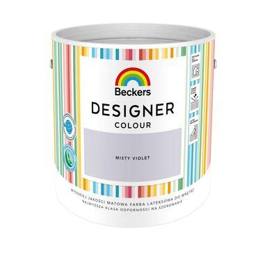 Farba wewnętrzna DESIGNER COLOUR 2.5 l Misty Violet BECKERS
