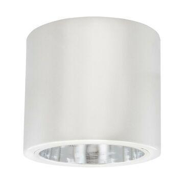 Oprawa stropowa natynkowa JUPITER śr. 10 cm biała E27 POLUX