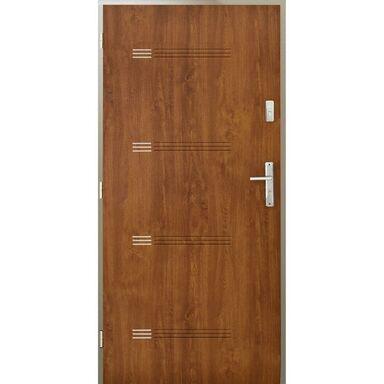 Drzwi wejściowe IZYDA Złoty dąb 80 Lewe PANTOR