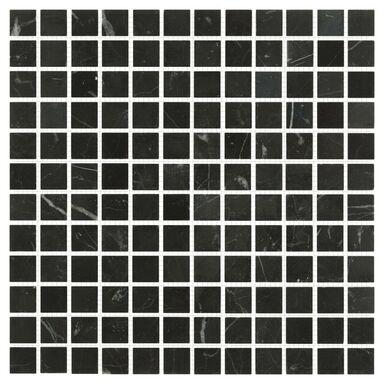Mozaika NERO POLER 30.5 X 30.5 MARMARA