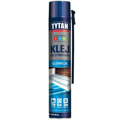 Klej poliuretanowy wężykowy do styropianu EOS 750 ml TYTAN