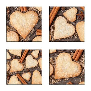 Podstawka szklana SWEET HEARTS ALFA-CER