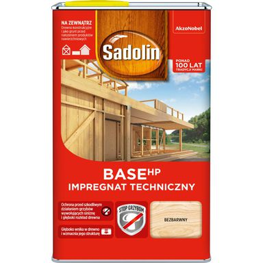 Impregnat do drewna BASE HP 0.75lBezbarwny SADOLIN