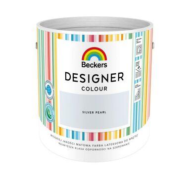 Farba wewnętrzna DESIGNER COLOUR 2.5 l Silver Pearl BECKERS