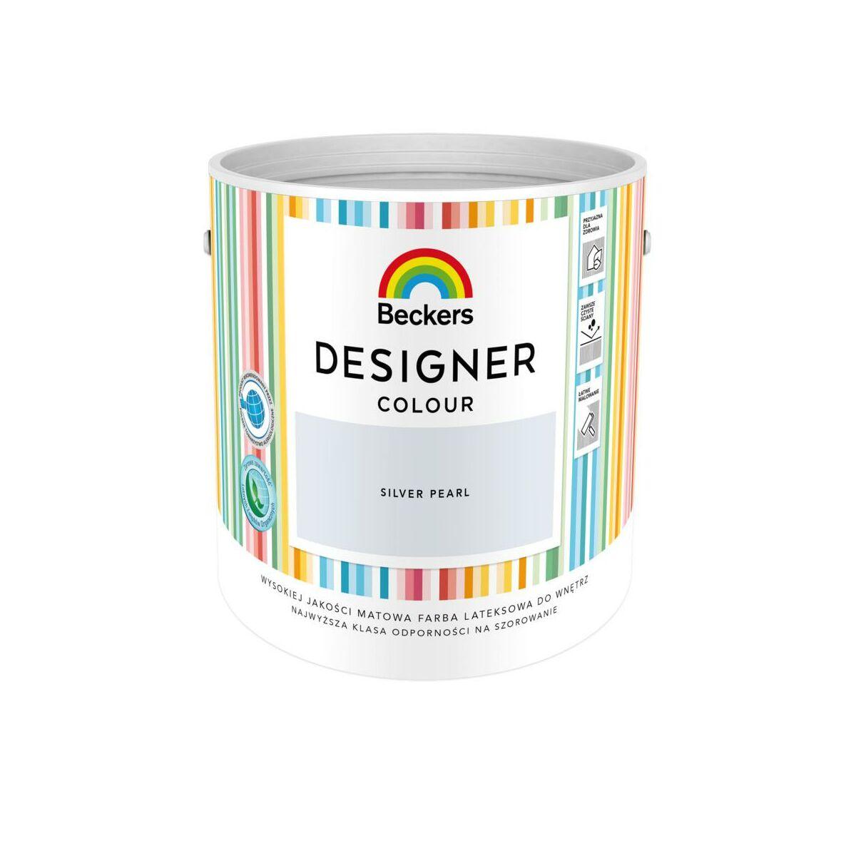 Farba Wewnetrzna Designer Colour 2 5 L Silver Pearl Beckers Farby Scienne Kolorowe W Atrakcyjnej Cenie W Sklepach Leroy Merlin