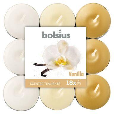 Podgrzewacz zapachowy AROMATIC wanilia 18 szt. BOLSIUS