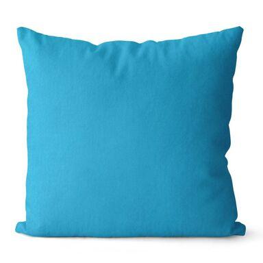 Poduszka Loneta Jess niebieska 40 x 40 cm
