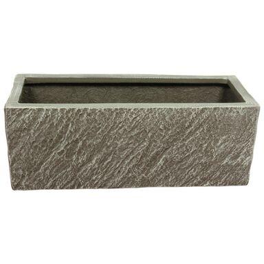Doniczka betonowa 55 x 20 cm grafitowa MPSS SKRZYNKA CERMAX
