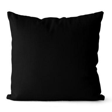 Poduszka Loneta Jess czarna 40 x 40 cm