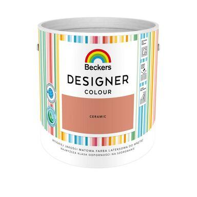 Farba wewnętrzna DESIGNER COLOUR 2.5 l Ceramic BECKERS
