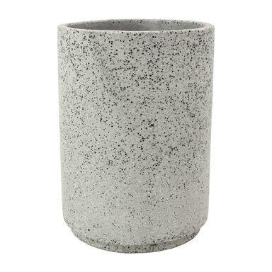Doniczka betonowa 28 cm grafitowa MBS CYLINDER CERMAX