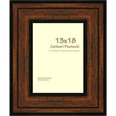Ramka na zdjęcia CARRE 13 x 18 cm orzech drewniana