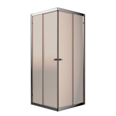 Kabina prysznicowa 90 x 90 cm IRIDUM SILENCE