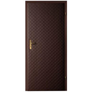 Tapicerka drzwiowa karo 5x5 czekolada T3K-CZEK szer. 105  wys. 210 cm