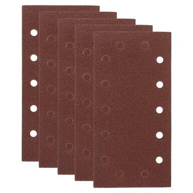 Papier ścierny UNIWERSALNY P80 230 x 115 mm 5 szt. DEXTER