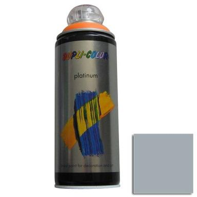 Spray PLATINUM Srebrnoszary 0,4 l  DUPLI COLOR