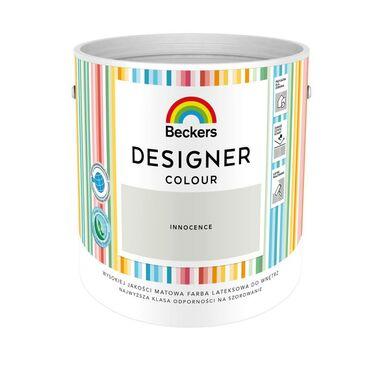 Farba wewnętrzna DESIGNER COLOUR 2.5 l Innocence BECKERS
