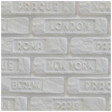 Kamień dekoracyjny gipsowy Harvard Biały miasta 0.22m2 Maxstone