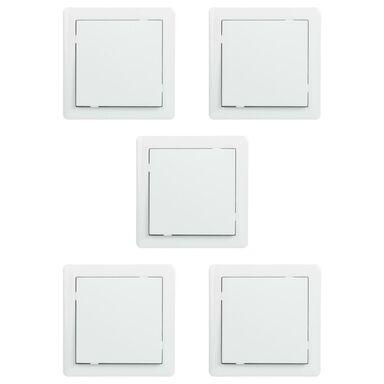 Włącznik pojedynczy schodowy 5PAK SLIM  Biały  LEXMAN
