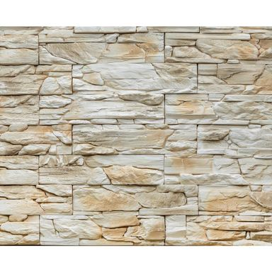 Kamień dekoracyjny Loara beż 39,8 x 9,8 cm 0.39m2 Steinblau