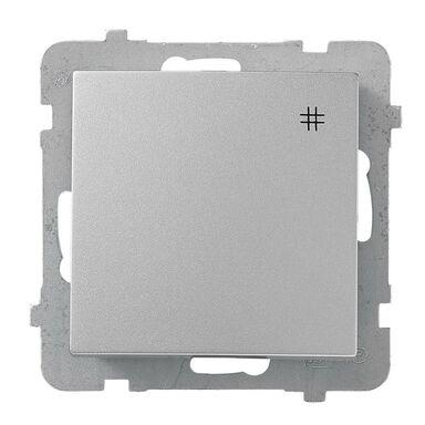 Włącznik krzyżowy AS srebrny OSPEL