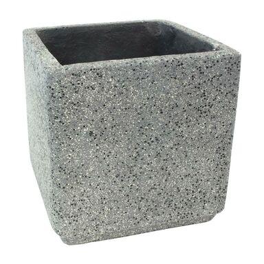Doniczka betonowa 37 x 37 cm grafitowa MBS KWADRAT CERMAX
