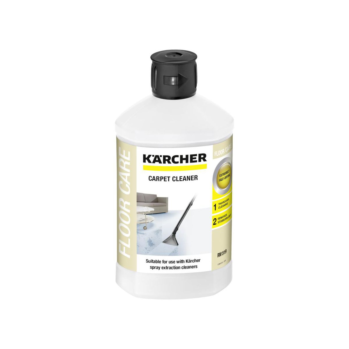 Detergent Rm 519 Karcher Akcesoria Do Odkurzaczy W Atrakcyjnej Cenie W Sklepach Leroy Merlin