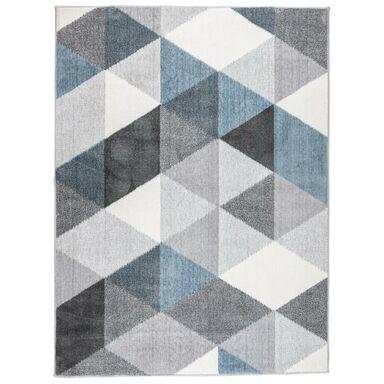 Dywan Vista szaro-niebieski 160 x 220 cm