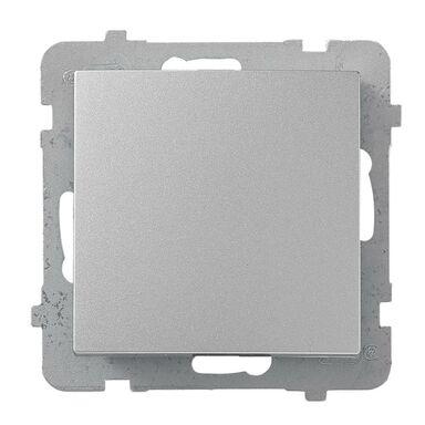Włącznik pojedynczy AS srebrny OSPEL