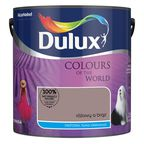 Farba wewnętrzna KOLORY ŚWIATA 2.5 l Różowy a Brąz DULUX