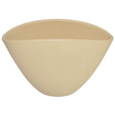 Osłonka ceramiczna 37.5 cm do storczyka wanilia