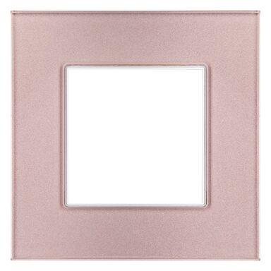 Ramka pojedyncza ROSA  różowy metalik  POLMARK