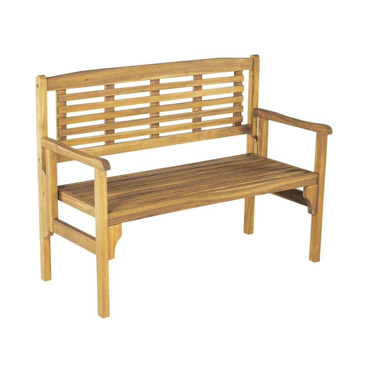Ogromny Ławka ogrodowa drewniana PORTO NATERIAL składana - Krzesła, fotele DF48