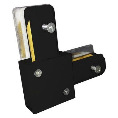 Łącznik L do systemu szynowego Track Light czarny Eko-Light