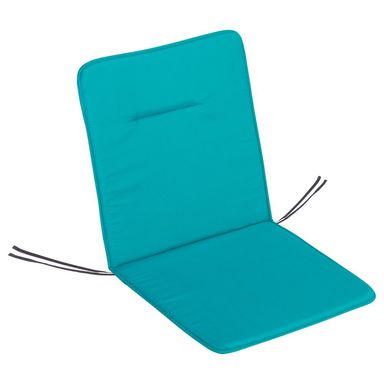 Poduszka na fotel 45 x 92 x 2 cm turkusowa