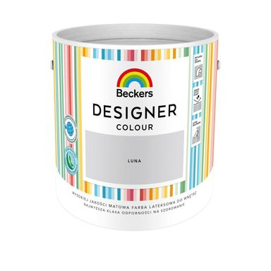 Farba wewnętrzna DESIGNER COLOUR 2.5 l Luna BECKERS