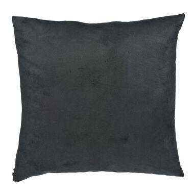 Poduszka Suede czarna 45 x 45 cm Inspire