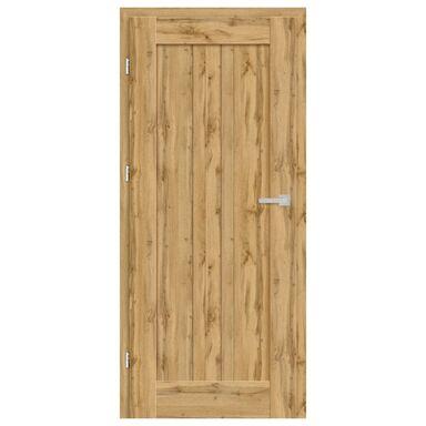 Skrzydło drzwiowe pełne Cordoba Dąb Wotan 90 Lewe Nawadoor