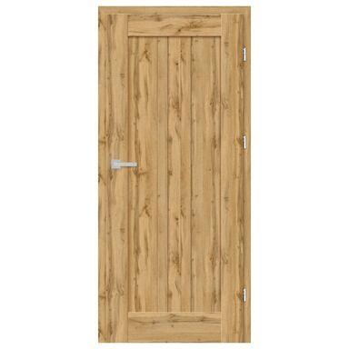 Skrzydło drzwiowe pełne Cordoba Dąb Wotan 90 Prawe Nawadoor