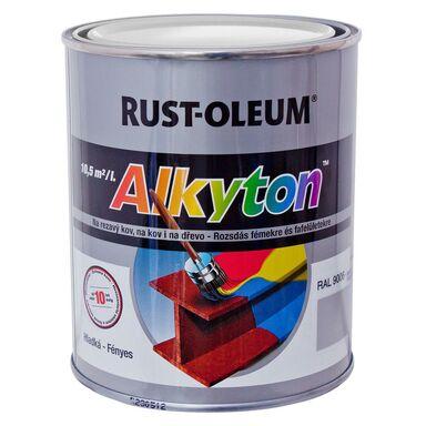 Farba antykorozyjna ALKYTON 0.75 l Biały Połysk DUPLI-COLOR