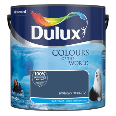 Farba wewnętrzna 2.5 l Energia Oceanu DULUX