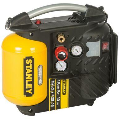 Współosiowy bezolejowy kompresor AIR BOSS 8215250STP596 5 l 10 bar STANLEY